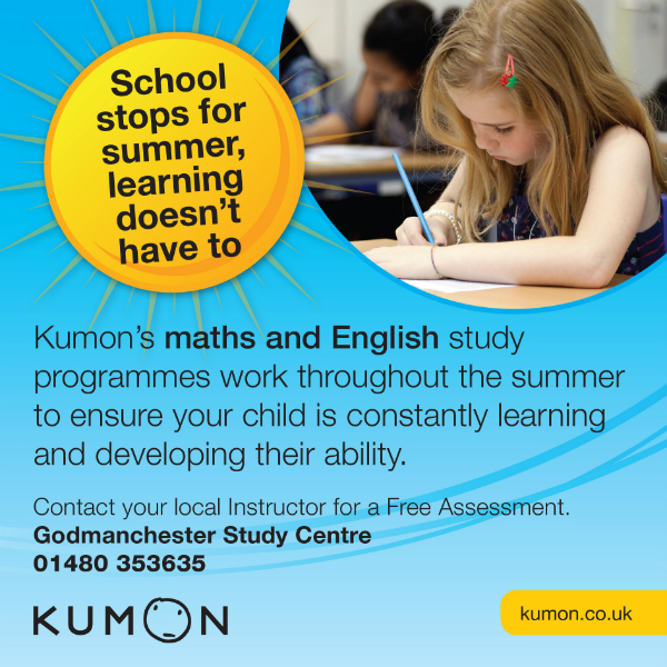 Kumon Maths and English Study Centre featured advert