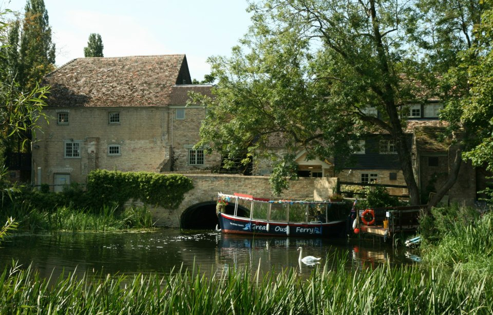 Great Ouse Ferry - Godmanchester to Brampton Mill on the river