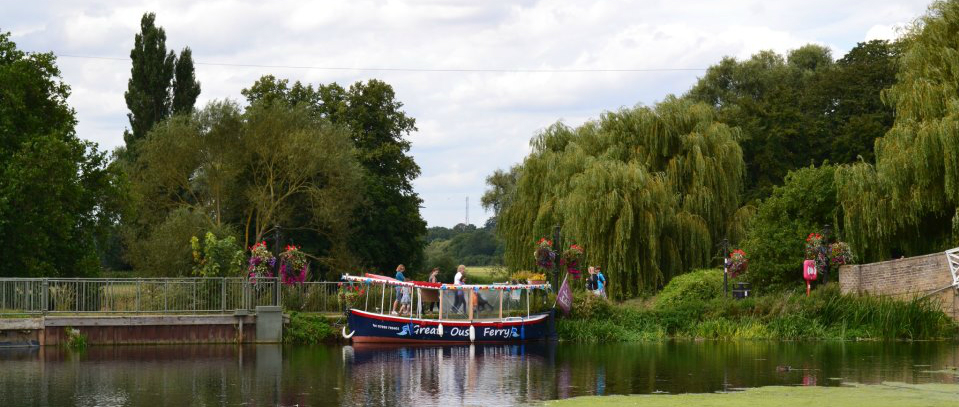 The Great Ouse Ferry in Godmanchester