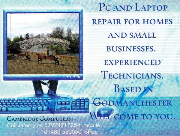 Cambridge Computer Repairs Godmanchester