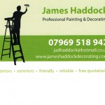 James Haddock – Painting & Decorating