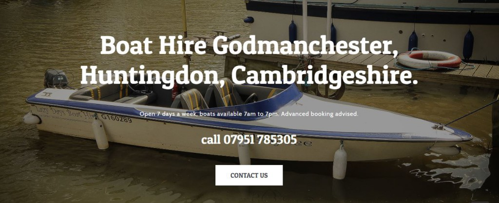 Lazy Days Godmanchester Boat Hire Huntingdon 2