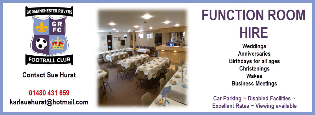 Function Room advert 18-01-2015