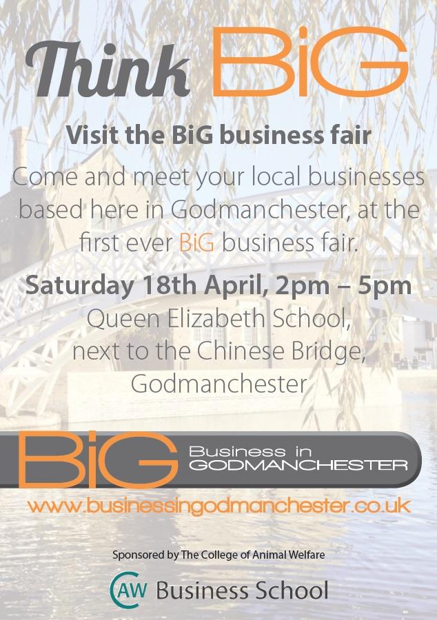 Think BiG - Godmanchester Business fair
