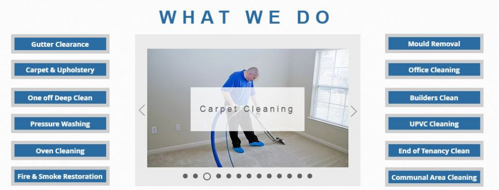 LAS Cleaning Services carpets